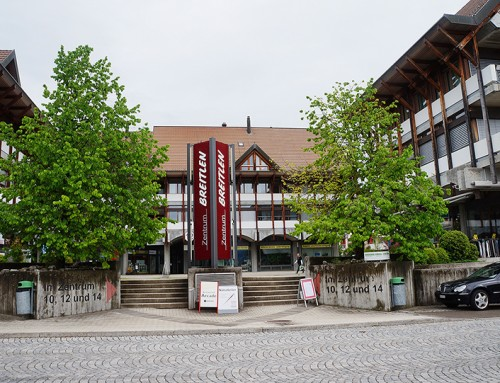 Breitlen: Dorfzentrum Hombrechtikon.