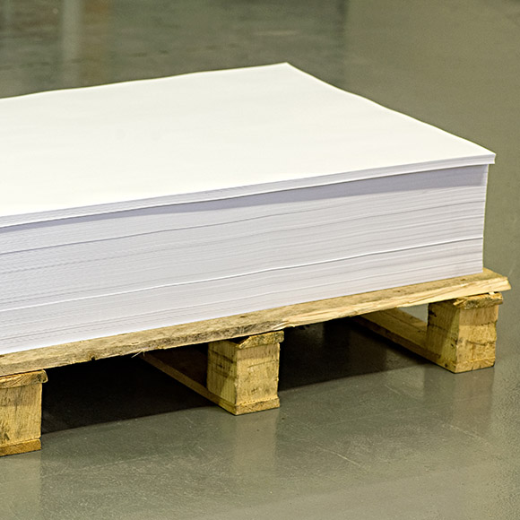 Papier Palette der Zentra Handel AG