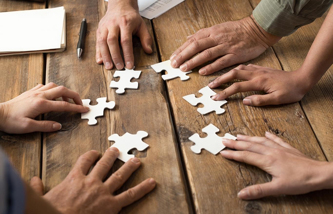 Zentra Liegenschaften AG - Puzzleteile