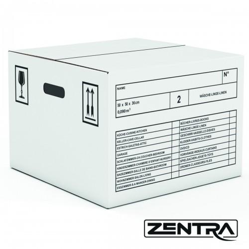 Zentra Umzugsbox Wäschekarton