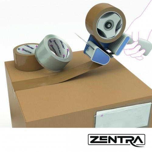 Zentra AG PVC Klebeband braun