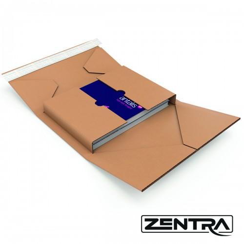 Zentra Buchverpackung