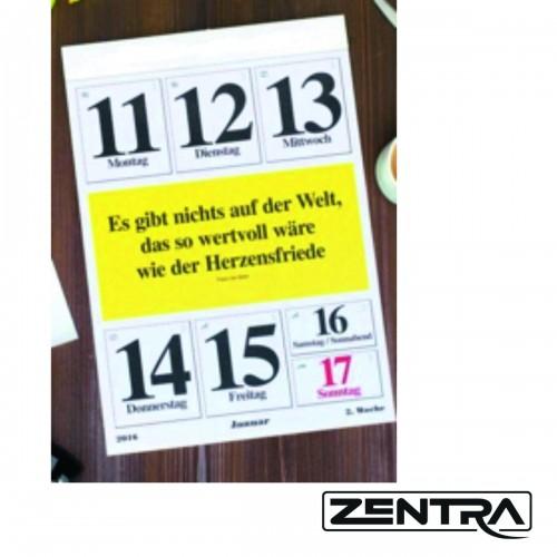 Zentra Wochenkalender